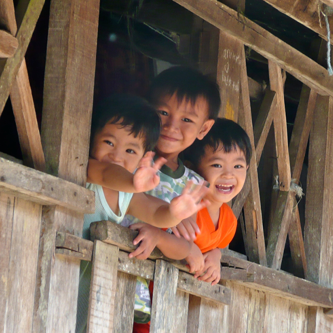 children-borneo